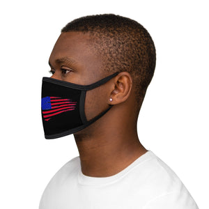 AMERICAN FLAG Mixed-Fabric Face Mask