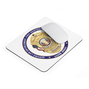POLICE CHAPLAIN PROGRAM Mousepad