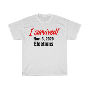 SURVIVED ELECTIONS Tee