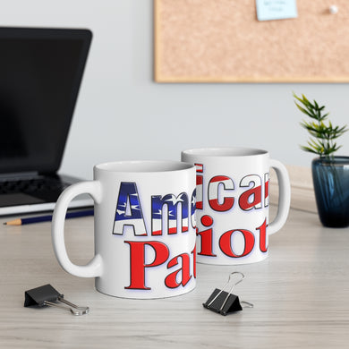 AMERICAN PATRIOT Ceramic Mug