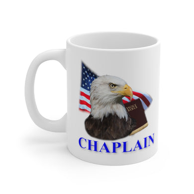 CHAPLAIN White Ceramic Mug