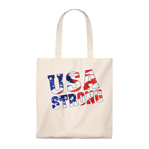USA STRONG Tote Bag - Vintage