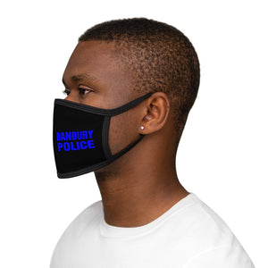 DANBURY POLICE Mixed-Fabric Face Mask
