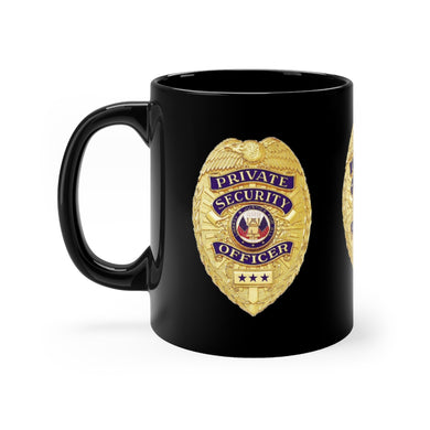 SECURITY BADGE mug 11oz