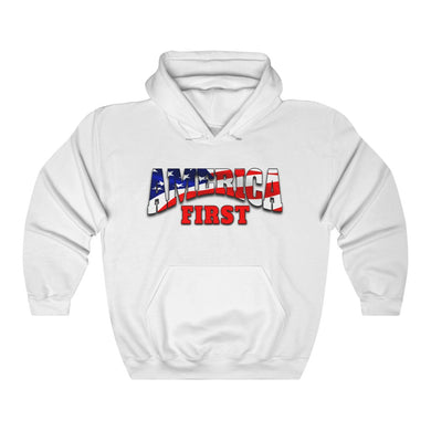 AMERICA FIRST Heavy Blend™ Hooded Sweatshirt