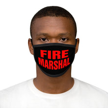 Load image into Gallery viewer, FIRE MARSHAL Mixed-Fabric Face Mask