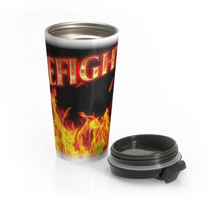 FIREFIGHTER Stainless Steel Travel Mug