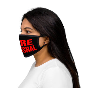 FIRE MARSHAL Mixed-Fabric Face Mask
