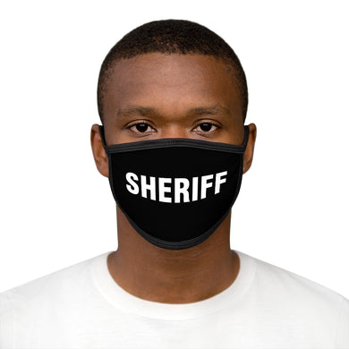SHERIFF Mixed-Fabric Face Mask
