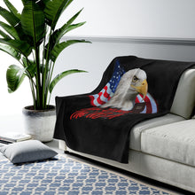 Load image into Gallery viewer, AMAERICAN EAGLE Velveteen Plush Blanket