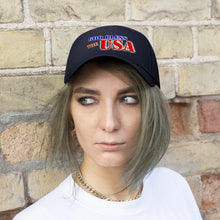 Load image into Gallery viewer, GOD BLESS THE USA Twill Hat