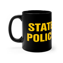 Load image into Gallery viewer, STATE POLICE Black mug 11oz