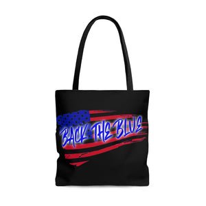 BACK THE BLUE Tote Bag