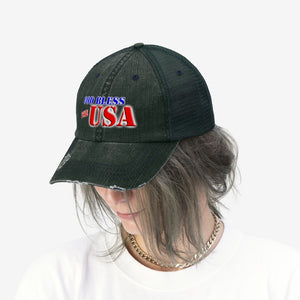 GOD BLESS THE USA Trucker Hat