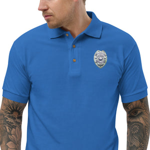 DANBURY POLICE Embroidered Polo Shirt