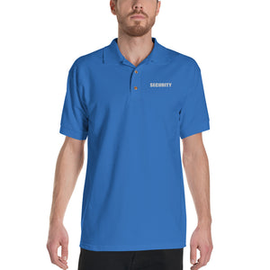 SECURITY Embroidered Polo Shirt