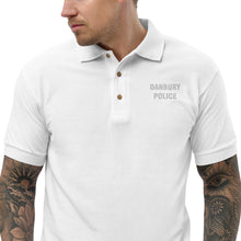 Load image into Gallery viewer, DANBURY POLICE Embroidered Polo Shirt