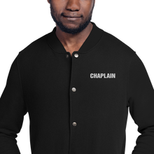 Load image into Gallery viewer, CHAPLAIN Embroidered Champion Bomber Jacket