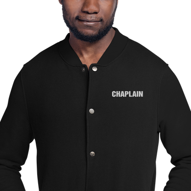 CHAPLAIN Embroidered Champion Jacket