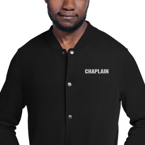 CHAPLAIN Embroidered Champion Bomber Jacket