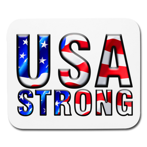 USA STRONG Mouse pad - white
