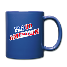Load image into Gallery viewer, PROUD AMERICAN - royal blue