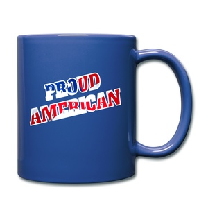 PROUD AMERICAN - royal blue