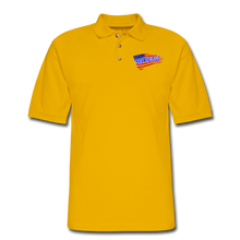 Load image into Gallery viewer, BACK THE BLUE Pique Polo Shirt - Yellow