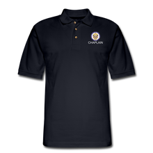 Load image into Gallery viewer, POLICE CHAPLAIN PROGRAM Pique Polo Shirt - midnight navy