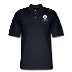 POLICE CHAPLAIN PROGRAM Pique Polo Shirt - midnight navy