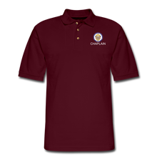 Load image into Gallery viewer, POLICE CHAPLAIN PROGRAM Pique Polo Shirt - burgundy