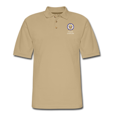 Load image into Gallery viewer, Police Chaplain Pique Polo Shirt - beige