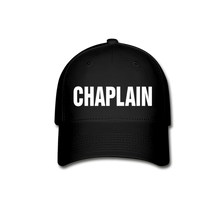 Load image into Gallery viewer, CHAPLAIN CAP - black