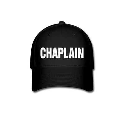 CHAPLAIN CAP - black