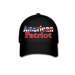 AMERICAN PATRIOT Cap - black