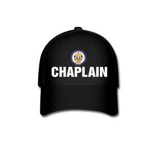 POLICE CHAPLAIN PROGRAM CAP - black