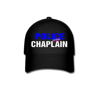 POLICE CHAPLAIN CAP - black