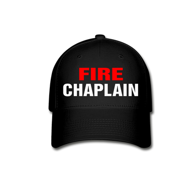 FIRE CHAPLAIN - black