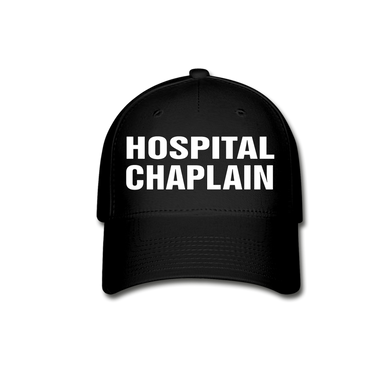 HOSPITAL CHAPLAIN CAP - black
