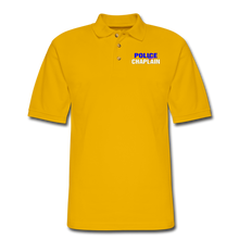 Load image into Gallery viewer, POLICE CHAPLAIN Pique Polo Shirt - Yellow