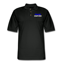 Load image into Gallery viewer, POLICE CHAPLAIN Pique Polo Shirt - black
