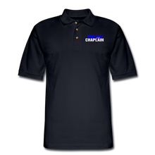 Load image into Gallery viewer, POLICE CHAPLAIN Pique Polo Shirt - midnight navy