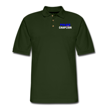 Load image into Gallery viewer, POLICE CHAPLAIN Pique Polo Shirt - forest green