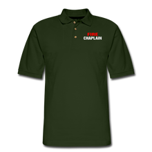 Load image into Gallery viewer, FIRE CHAPLAIN Pique Polo Shirt - forest green