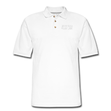 Load image into Gallery viewer, HOSPITAL CHAPLAIN Pique Polo Shirt - white
