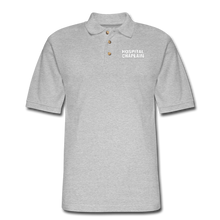 Load image into Gallery viewer, HOSPITAL CHAPLAIN Pique Polo Shirt - heather gray