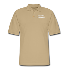 Load image into Gallery viewer, HOSPITAL CHAPLAIN Pique Polo Shirt - beige