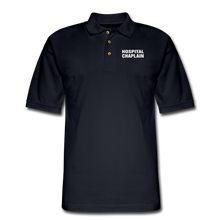 Load image into Gallery viewer, HOSPITAL CHAPLAIN Pique Polo Shirt - midnight navy