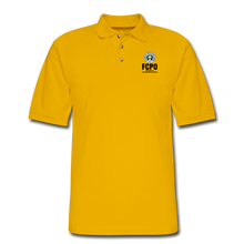 Load image into Gallery viewer, FCPO Men's Pique Polo Shirt - Yellow