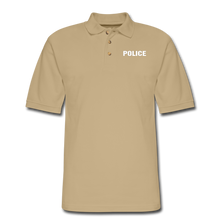 Load image into Gallery viewer, Men's Pique Polo Shirt - beige